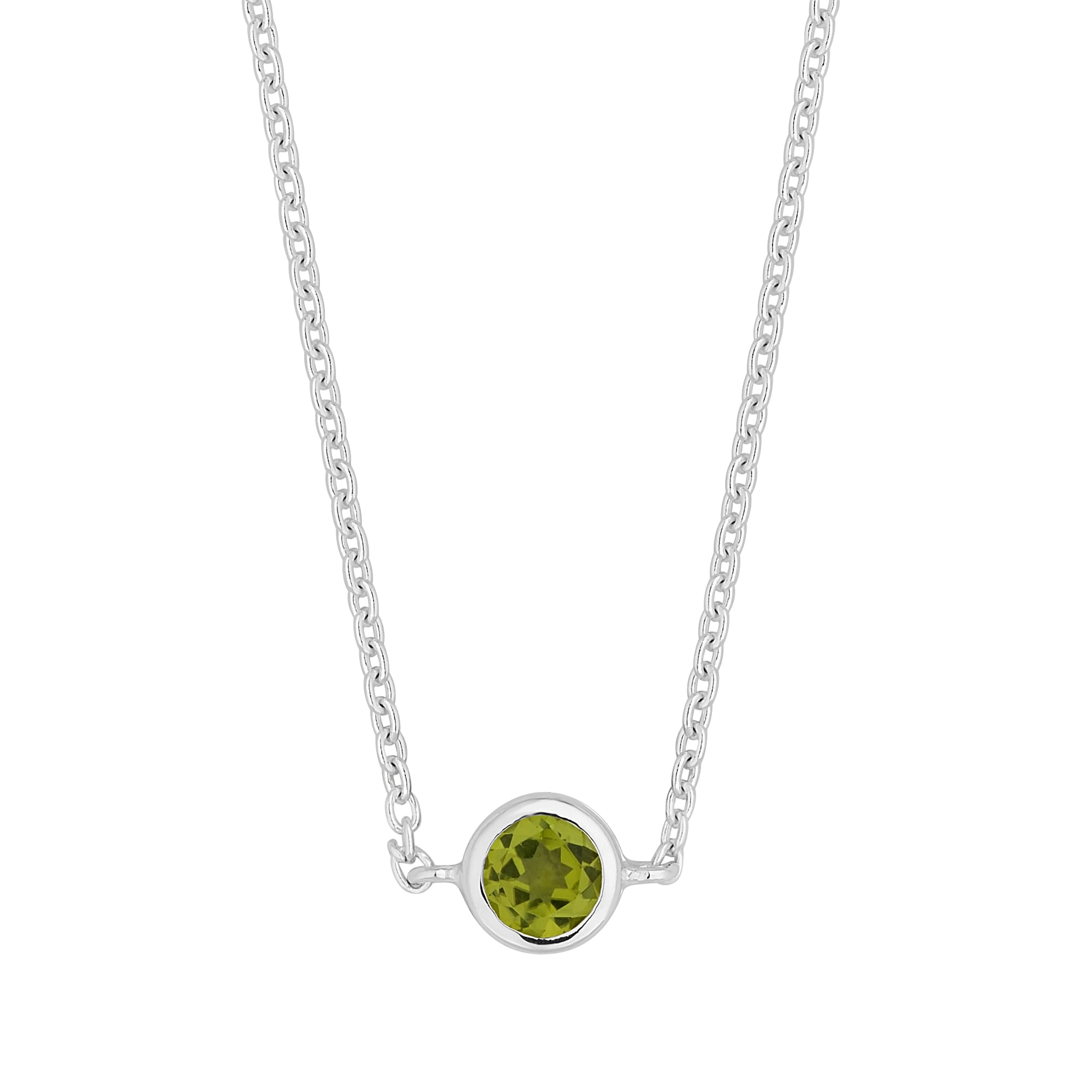 peridot necklace s amazon birthstone white children pendant childrens dp com gold