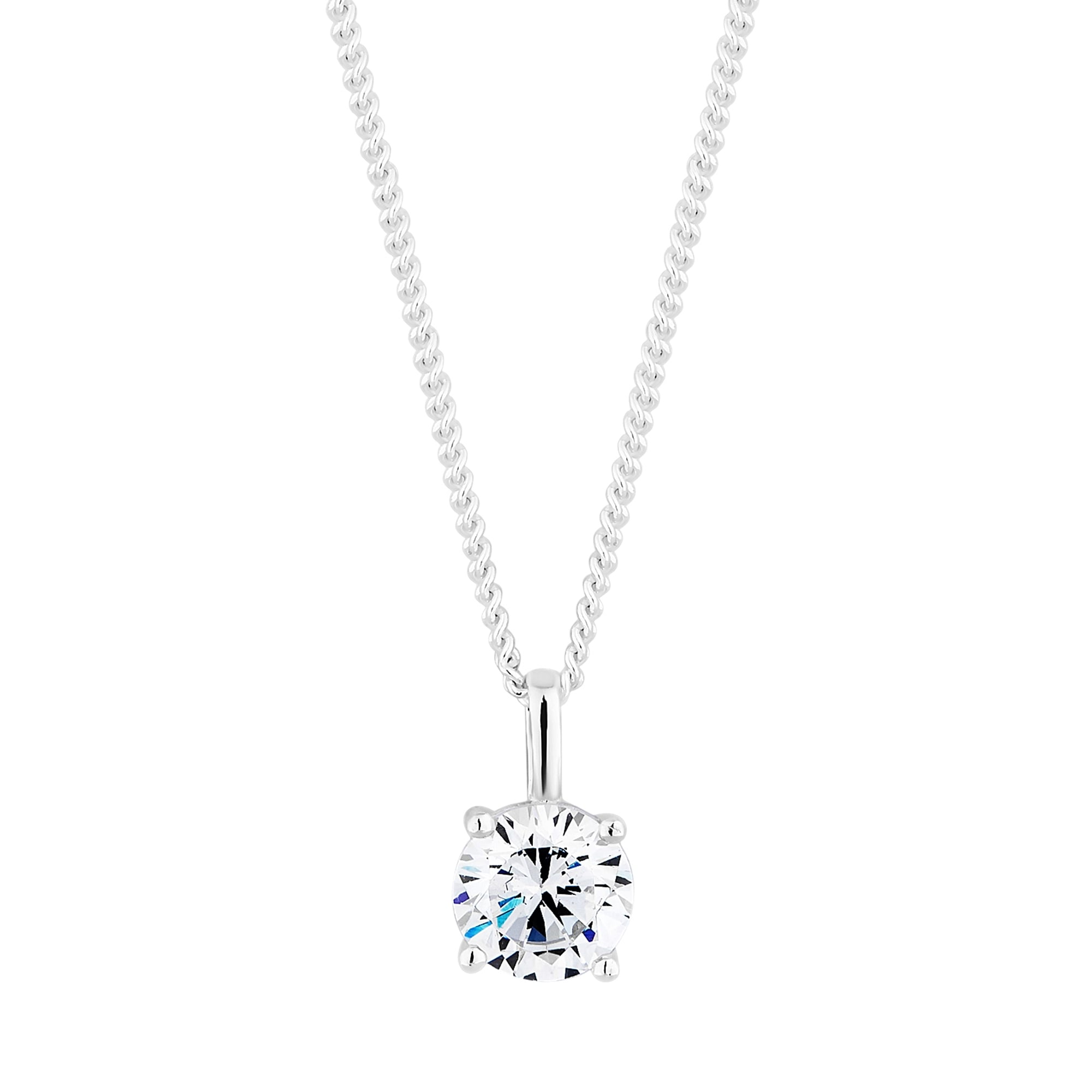 products steel circle cubic stainless jesus cz charm necklace zirconia bling
