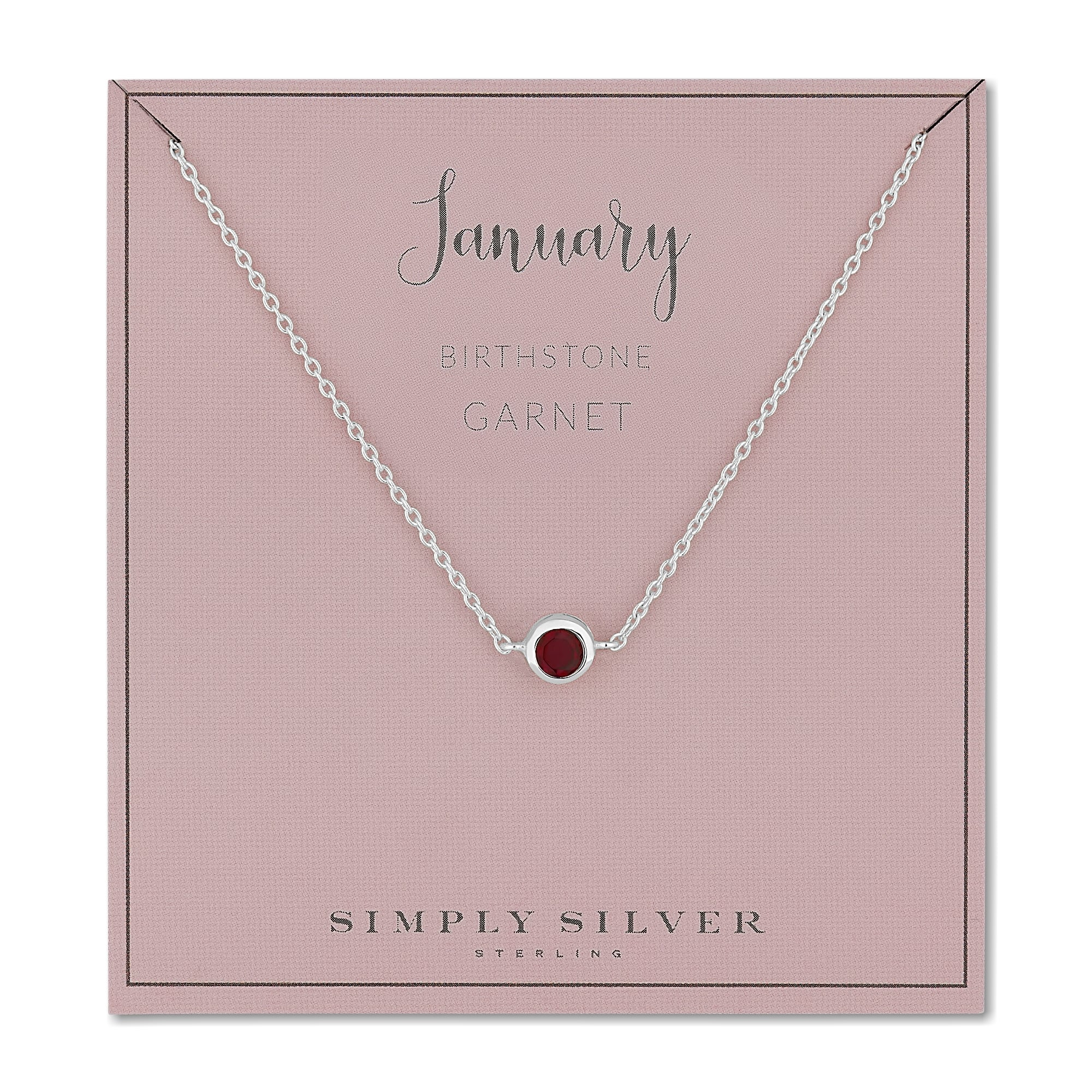 name june necklace gold solitare with disc bezel dainty products drop birthstone