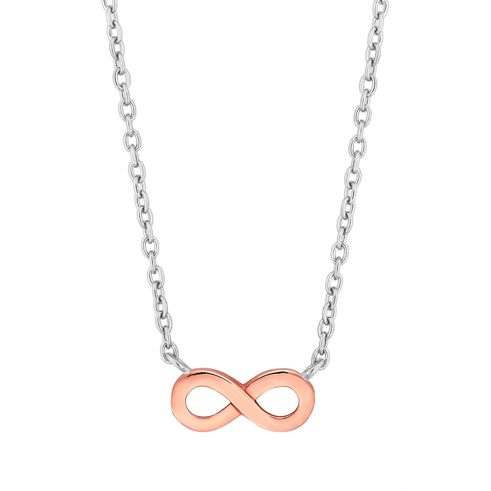silver chain on azil tiny products of g necklace sterling infinity boutique thin