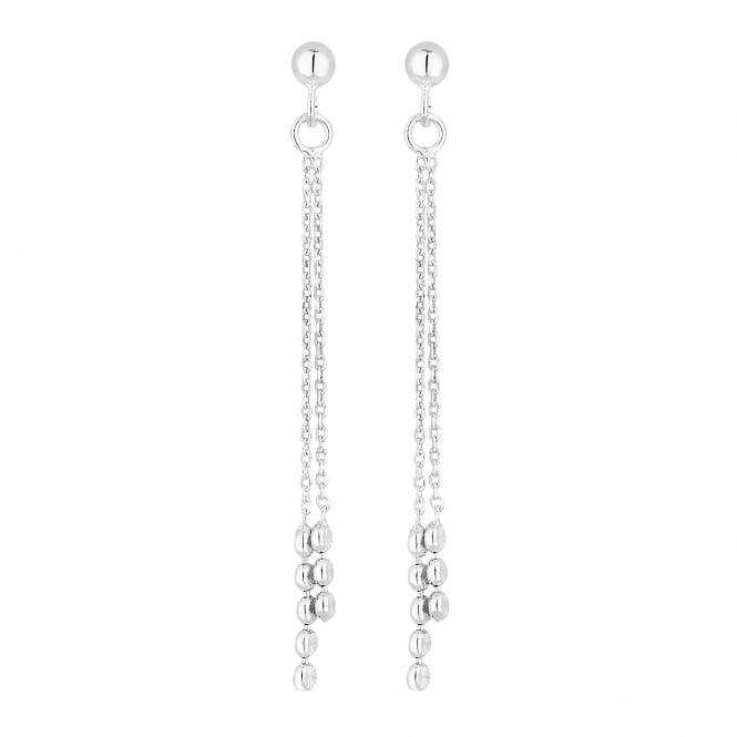 Simply Silver Sterling Silver Chain Drop Earring