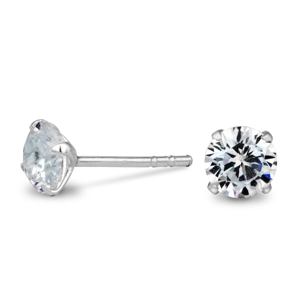 johnlewis pdp rsp at cubic online stud com buyibb earrings main round zirconia ibb john gold lewis