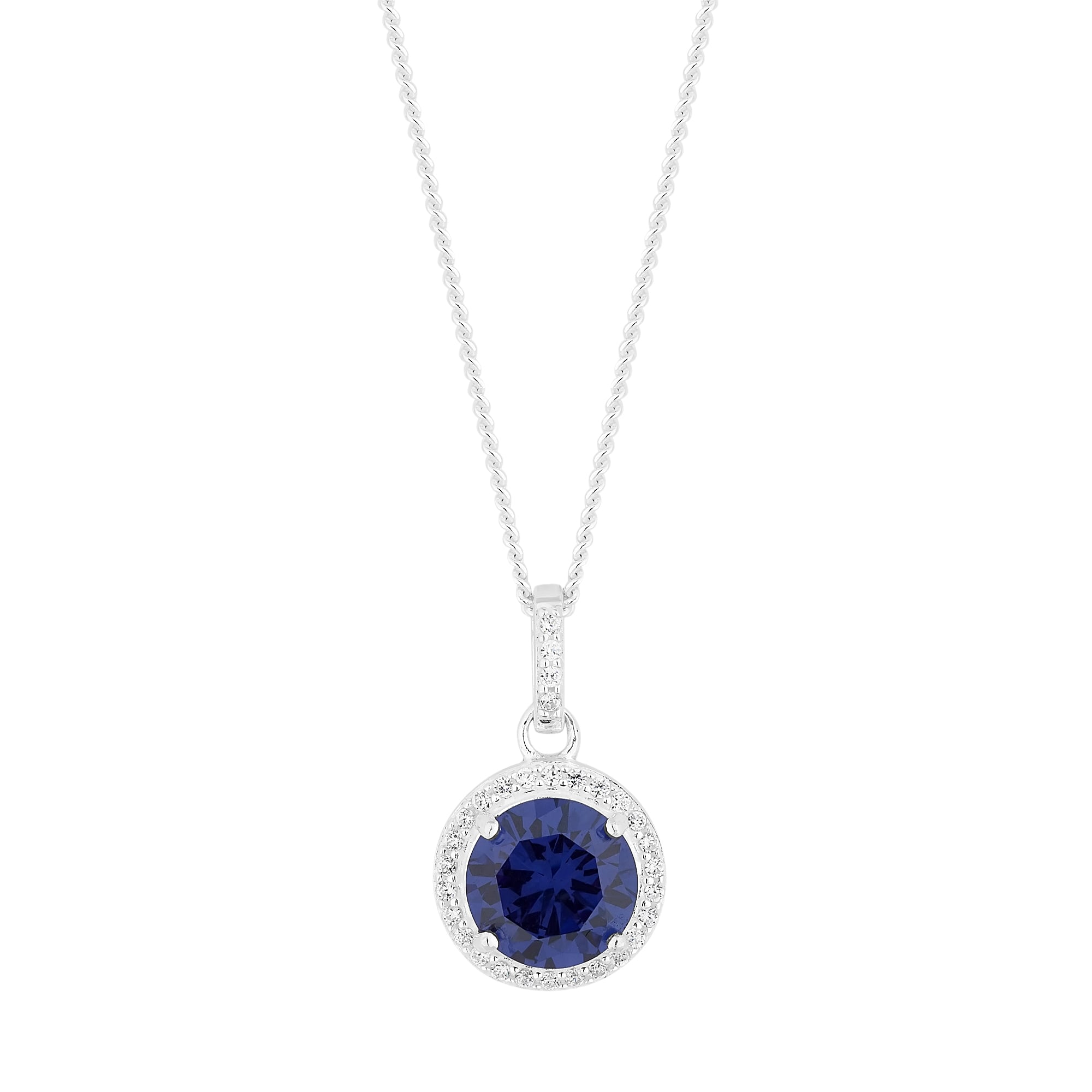 dsc jewelry pendant zoom to hover compass blue