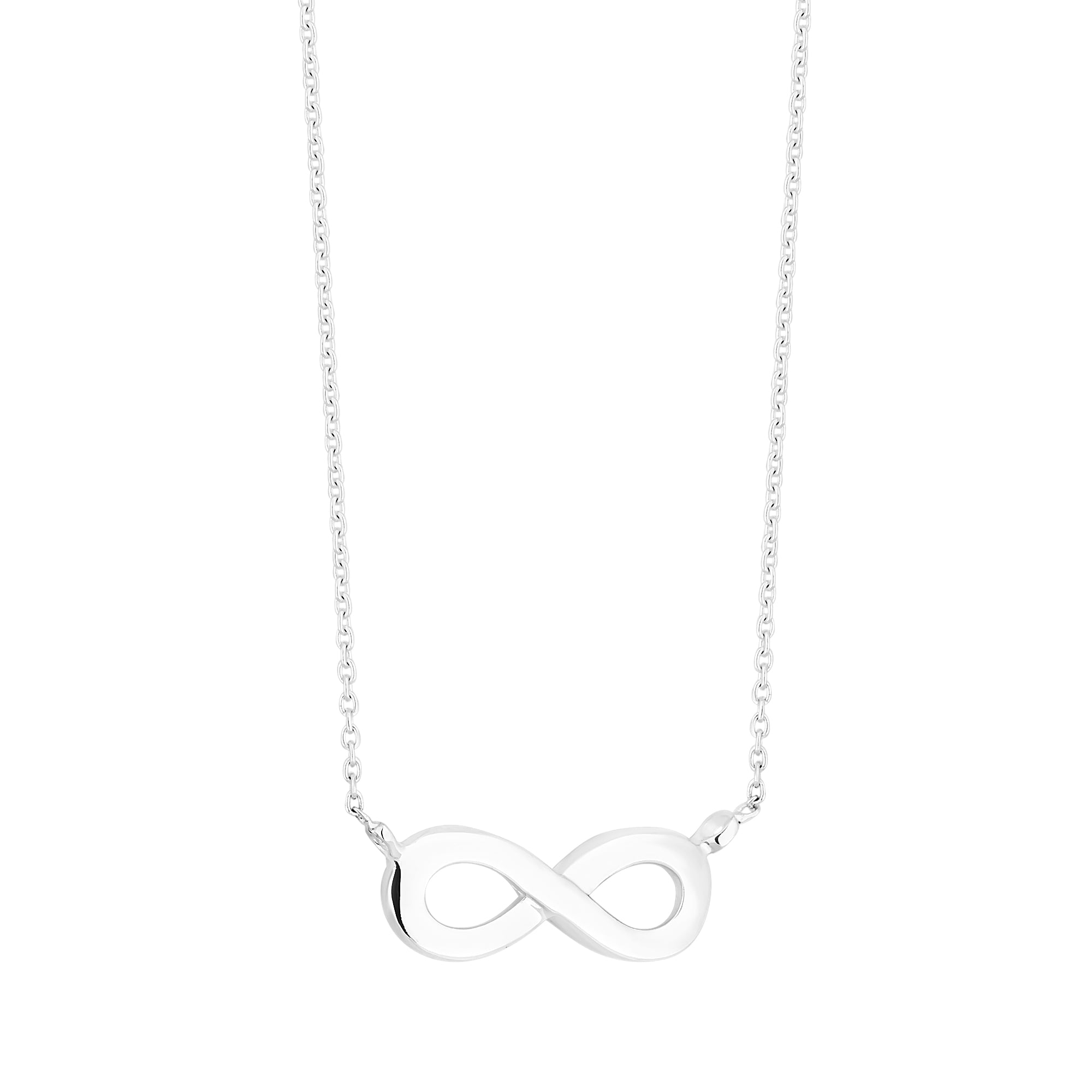 zirconia necklaces with zoom simply necklace pave suspended infinity silver pendant cubic jewellery sterling