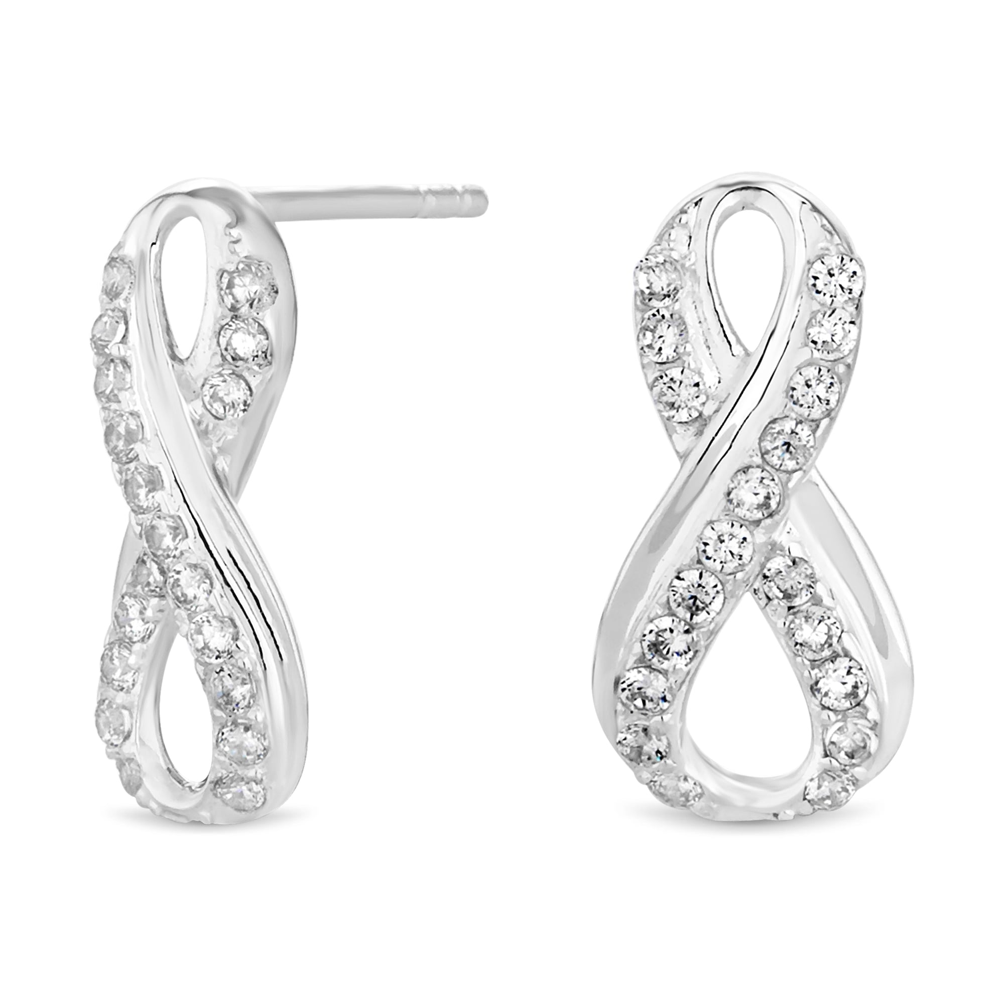 earrings shop crowdyhouse infinity on sterling silver