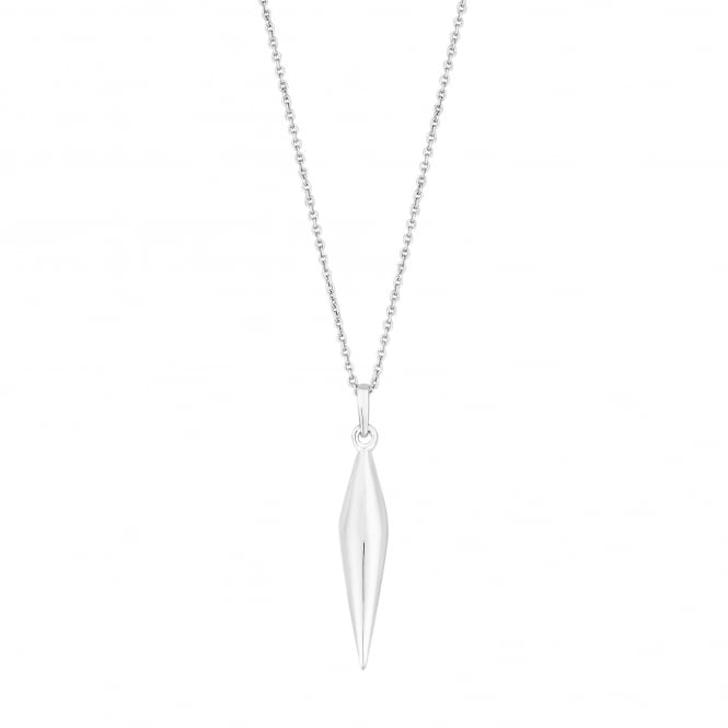 Simply Silver Sterling Silver Shard Pendant Necklace