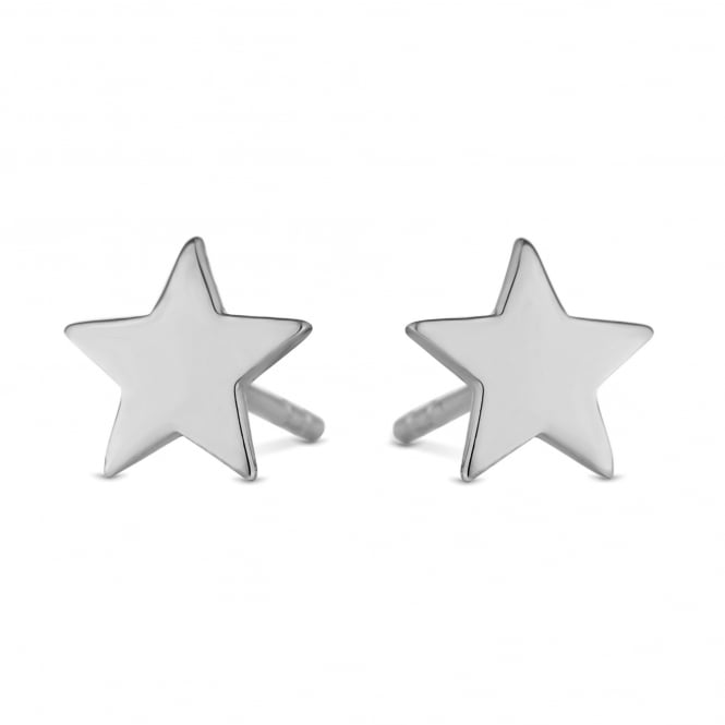 Sterling Silver Star Stud Earring